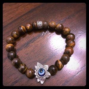 8mm  Natural Stone 7 Chakra Bracelets